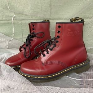 Size 8 Red Dr. Martens